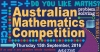 Australian Mathematics Competition held at PISCT