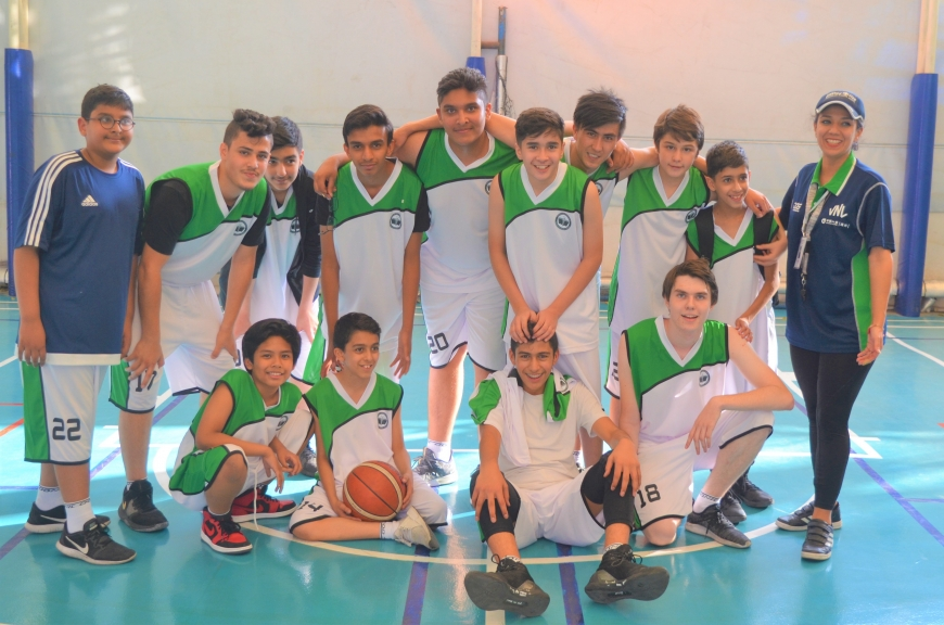"""PEISCT Basketball Sr. Team "" won the match against German Embassy School Sr. Team"
